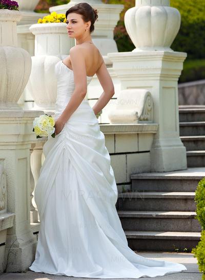 en linje ball kjole brudekjoler