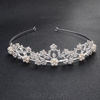 Tiaraer Bryllup/Party Rhinestone Klassisk stil Damer Hodepynt (042120022)