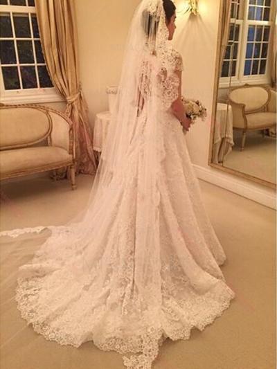 robes de mariée bohèmes romantiques
