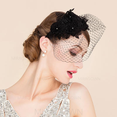 Fil net Chapeaux de type fascinator Beau Dames Chapeau (196089173)