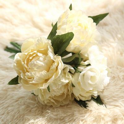 """Bouquets de demoiselle d'honneur/Décorations Forme libre Mariage Tissu 12.20""""(Approximative 31cm) Fleurs de mariage (123114776)"""