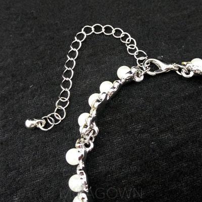 """Bracelets Alliage/Strass/De faux pearl Dames Style Classique 9.84""""(Approximative 25cm) Mariage & Bijoux de Soirée (011121334)"""