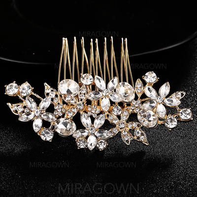 Des peignes et barrettes Mariage Cristal/Alliage Magnifique (Vendu dans une seule pièce) Accessoires de coiffure (042131388)