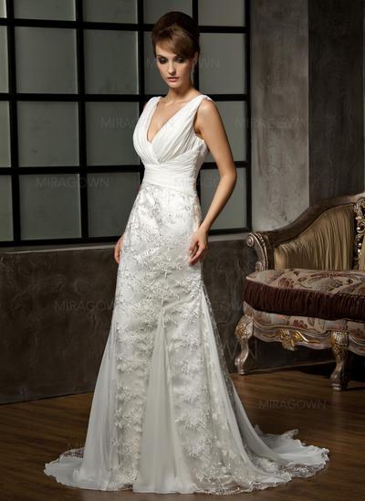 robes de mariée hors de l'épaule