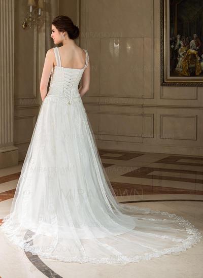 en linje brudekjoler 2021