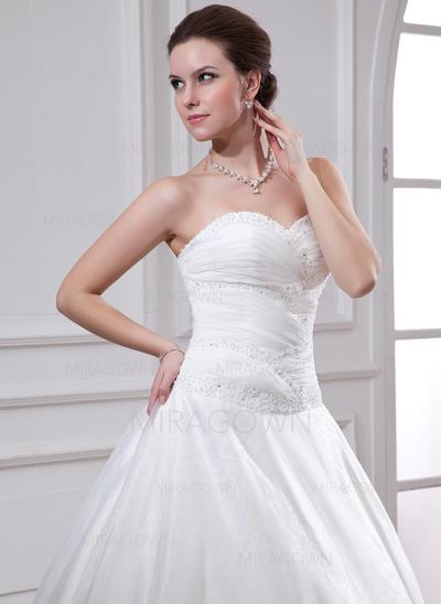 robes de mariée d'hiver de taille plus d'argent