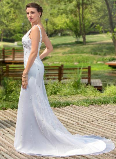 pluss store brudekjoler