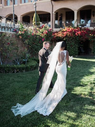 alle blå brudekjoler