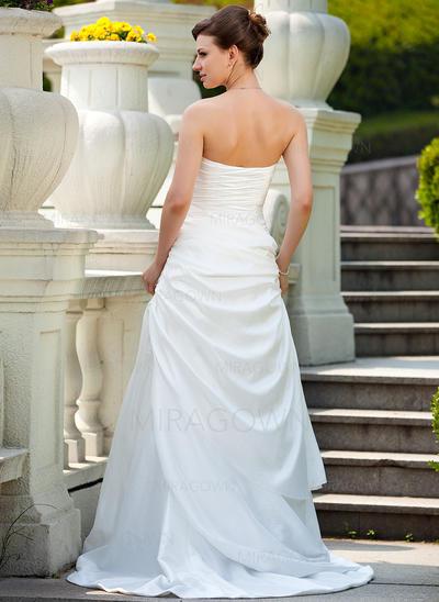 en linje billige brudekjoler