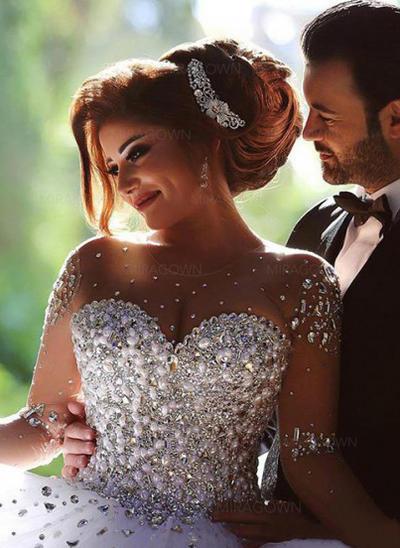 robes de mariée perles