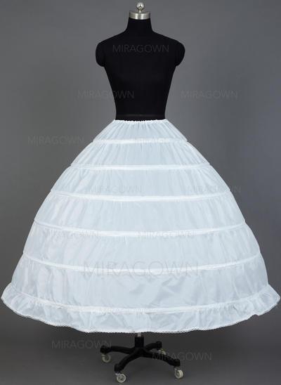 Jupons Longueur mollet Nylon Combinaison pour robe de bal/Combinaison complète 1 couche Jupons (037031007)