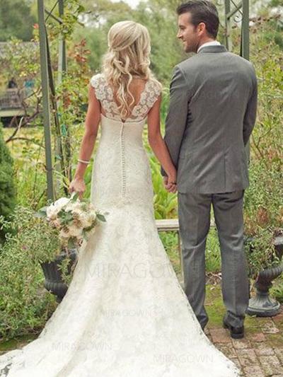 robes de mariée fluides simples