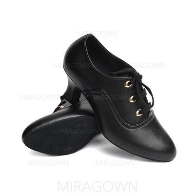 Femmes Swing Talons Escarpins Similicuir Chaussures de danse (053082952)