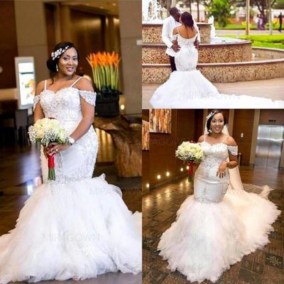 aline korte brudekjoler