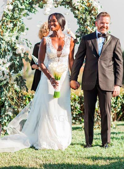 alle beaded brudekjoler