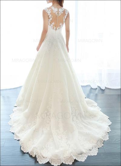 svart lav åpen brudekjoler