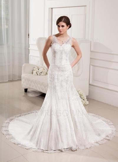 rimelig langermet brudekjoler