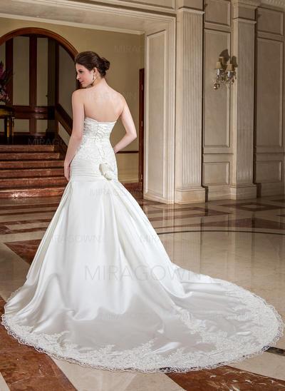 argent mère des robes de mariée