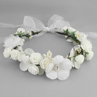 Bandeaux Mariage Fleur en soie Charmant (Vendu dans une seule pièce) Accessoires de coiffure (042131418)