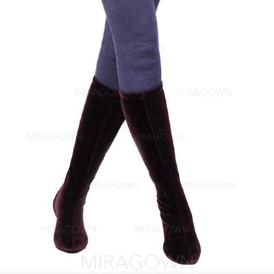 Femmes Bottes Escarpins Tissu Chaussures de danse (053104838)