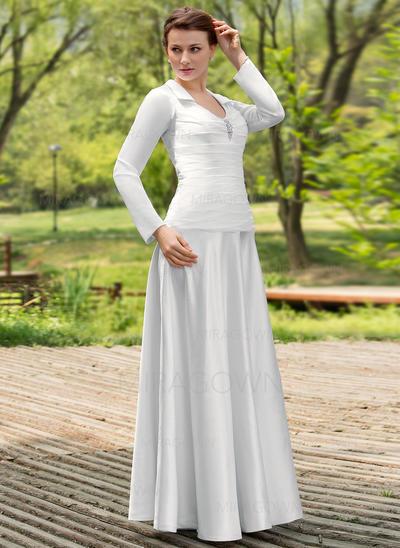 vert mère des robes de mariée