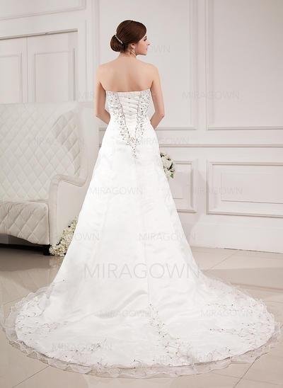 robes de mariée sans bretelles