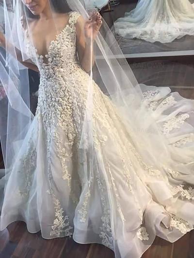ballroom stil brudekjoler