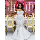Trumpet/Mermaid Lace Tulle - Beautiful Wedding Dresses (002213515)
