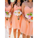 Sweetheart A-Line/Princess Chiffon Sleeveless Bridesmaid Dresses (007145035)