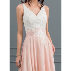 tea length lace beach wedding dresses