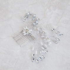 "Combs & Barrettes Wedding Crystal/Imitation Pearls 5.91""(Approx.15cm) 3.54""(Approx.9cm) Headpieces"