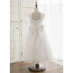 lace flower girl dresses white