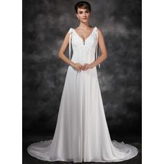 beach wedding dresses for women short