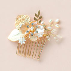 "Combs & Barrettes Wedding/Special Occasion/Party/Carnival Alloy/Freshwater Pearl 2.36""(Approx.6cm) 2.36""(Approx.6cm) Headpieces"