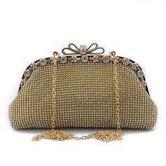 Wristlet Taschen Hochzeit/Zeremonie & Party Kristall / Strass Stutzen Verschluss Glänzende Clutches & Abendtaschen