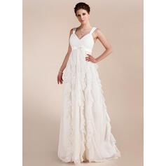 mãe de vestidos de noiva longa