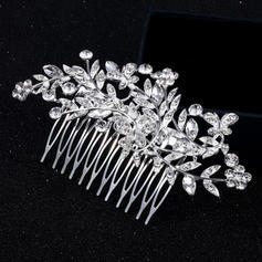 "Combs & Barrettes Alloy 4.53""(Approx.11.5cm) 2.36""(Approx.6cm) Rhinestone Headpieces"