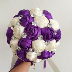 "Bridal Bouquets Free-Form Wedding Satin 11.02""(Approx.28cm) Wedding Flowers"