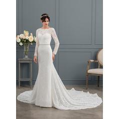 belles robes de mariée roses