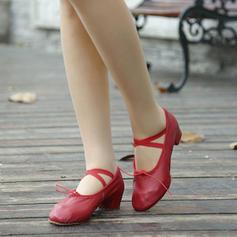 De mujer Ballet Piel Zapatos de danza