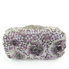 Clutches/Luxury Clutches Wedding/Ceremony & Party Crystal/ Rhinestone/Alloy Magnetic Closure Pretty Clutches & Evening Bags