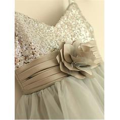 all white flower girl dresses