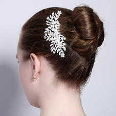 """Combs & Barrettes Wedding Alloy 4.21""""(Approx.10.7cm) 2.56""""(Approx.6.5cm) Headpieces"""