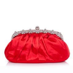 Handtaschen Hochzeit/Zeremonie & Party Satin Stutzen Verschluss Anhänger Clutches & Abendtaschen