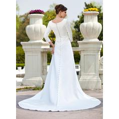 wedding dresses for short petite brides