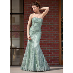 Trumpet/Mermaid Sweetheart Taffeta Lace Beautiful Mother of the Bride Dresses