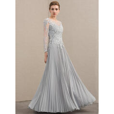 silver grey lace mother of the bride dresses