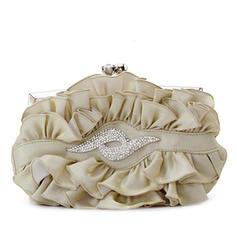 Handtaschen Hochzeit/Zeremonie & Party/Lässige & Einkaufen Seide Busseln Arretieren Verschluss Prächtig Clutches & Abendtaschen