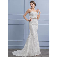 Lace Trumpet/Mermaid With Stunning General Plus Wedding Dresses