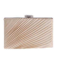 Fashion Handbags Ceremony & Party Silk Snap Closure Elegant Clutches & Evening Bags